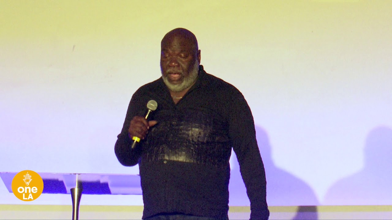 """Get Up and Eat"""" – Bishop T  D  Jakes – The Potter's House at"""